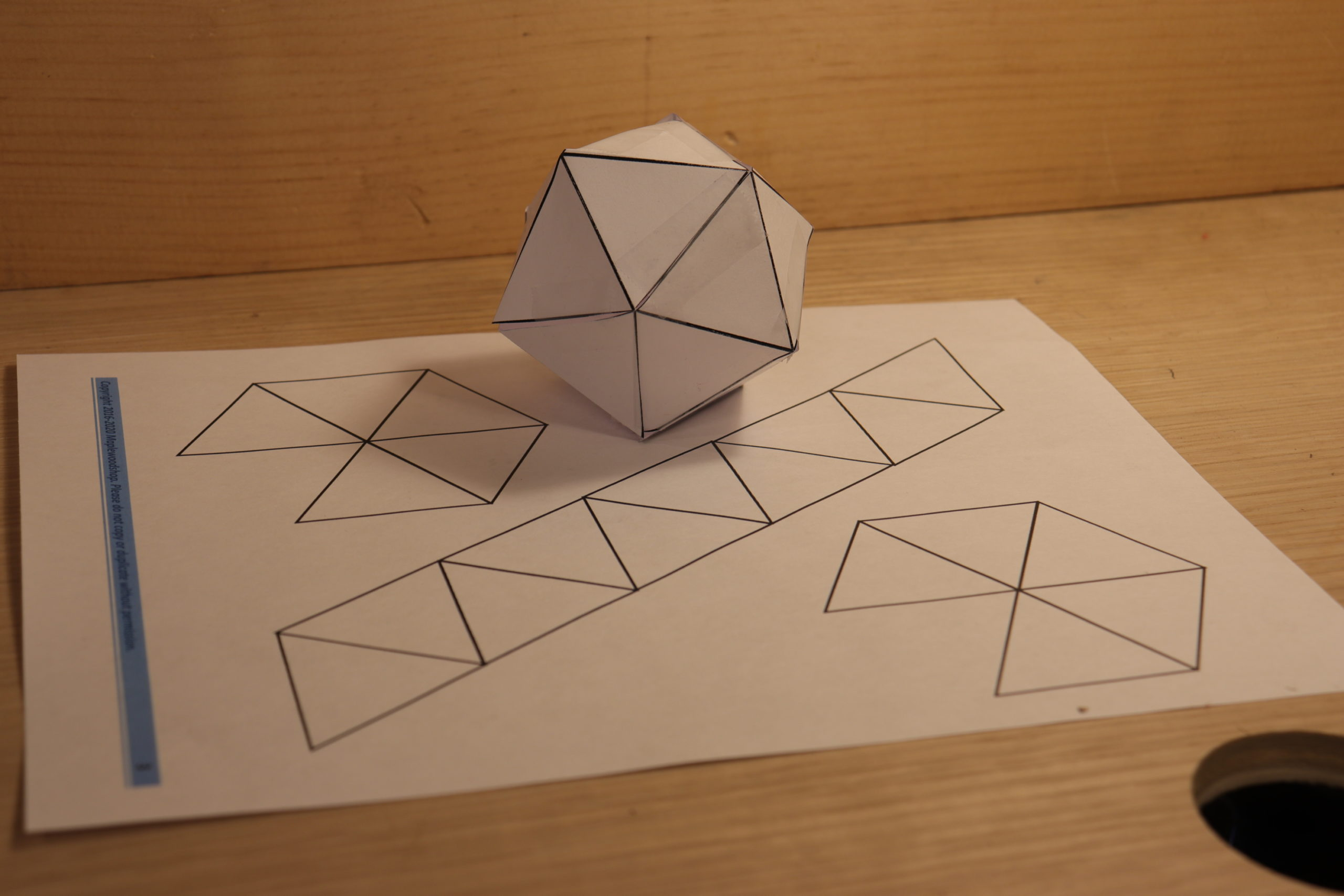 Getting Crafty- Paper Geodesic Dome
